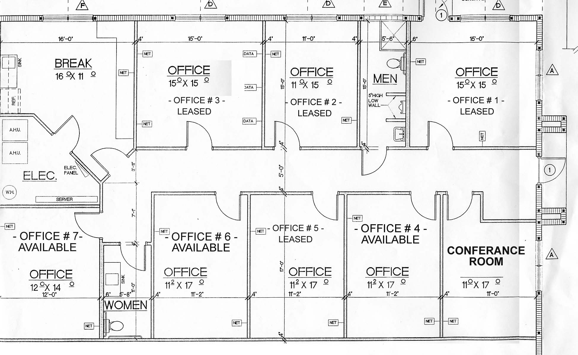 Cns properties llc gallery for Office layout design